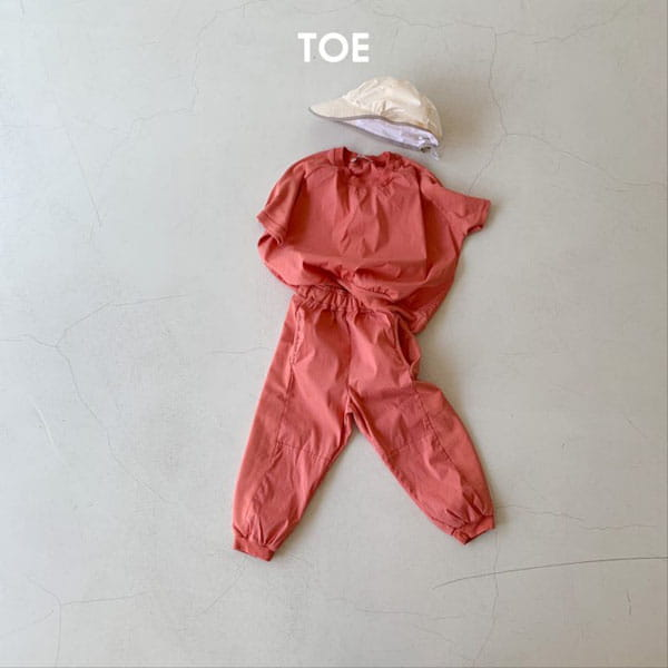TOE - Korean Children Fashion - #Kfashion4kids - Joy Slit Jogger Pants - 6