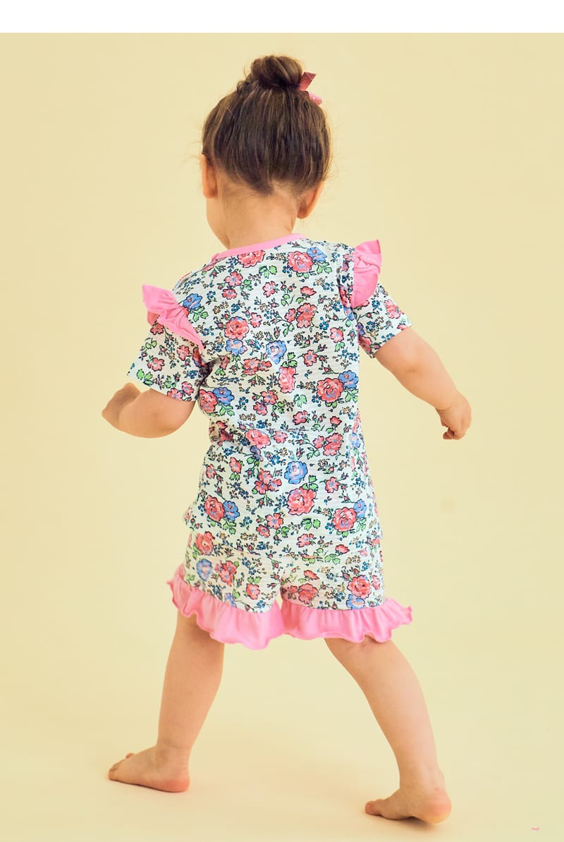 TTASOM - Korean Children Fashion - #Kfashion4kids - Rose Easywear - 5