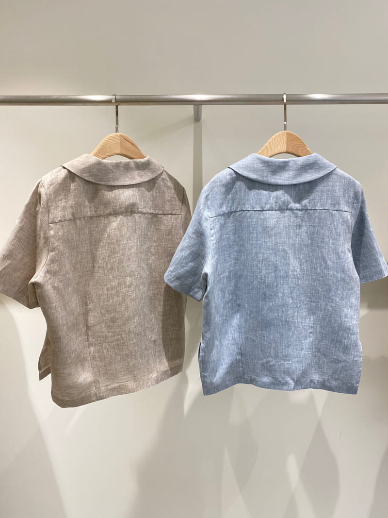 1968 - Korean Children Fashion - #Kfashion4kids - Linen Pre Dyeing Jacket - 3