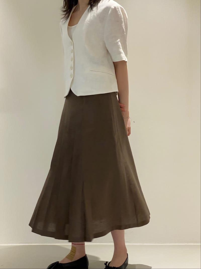 1968 - Korean Children Fashion - #Kfashion4kids - Wrinkle Skirt