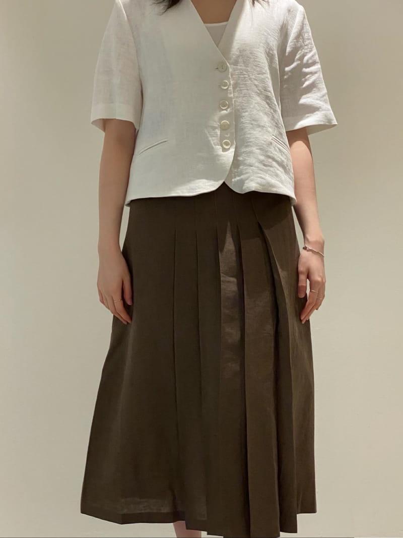 1968 - BRAND - Korean Children Fashion - #Kfashion4kids - Wrinkle Skirt