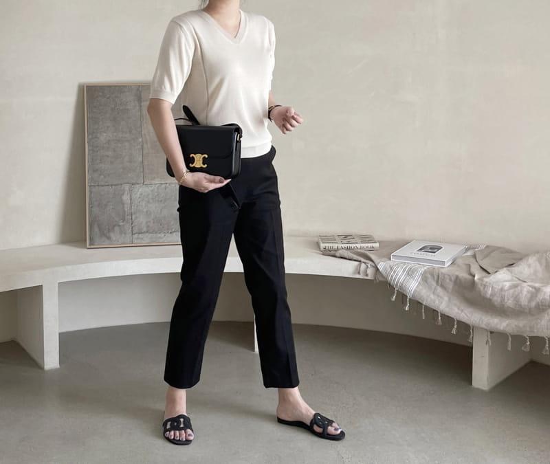 AFTER GLOW - Korean Children Fashion - #Kfashion4kids - Baco V Knit