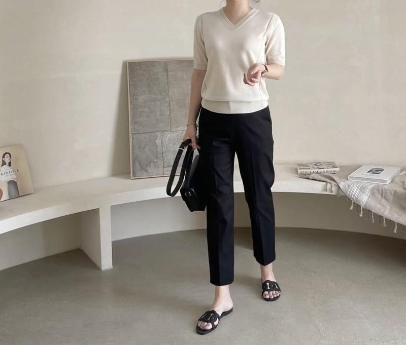 AFTER GLOW - Korean Children Fashion - #Kfashion4kids - Baco V Knit - 3