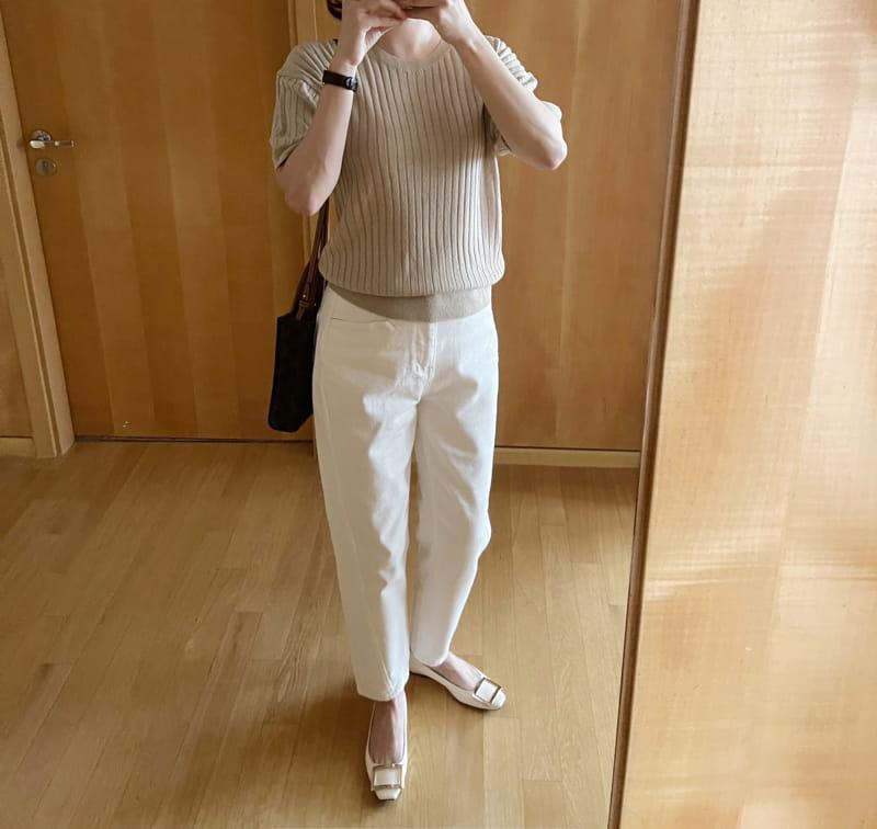 AFTER GLOW - Korean Children Fashion - #Kfashion4kids - Alps Rip Knit  - 2