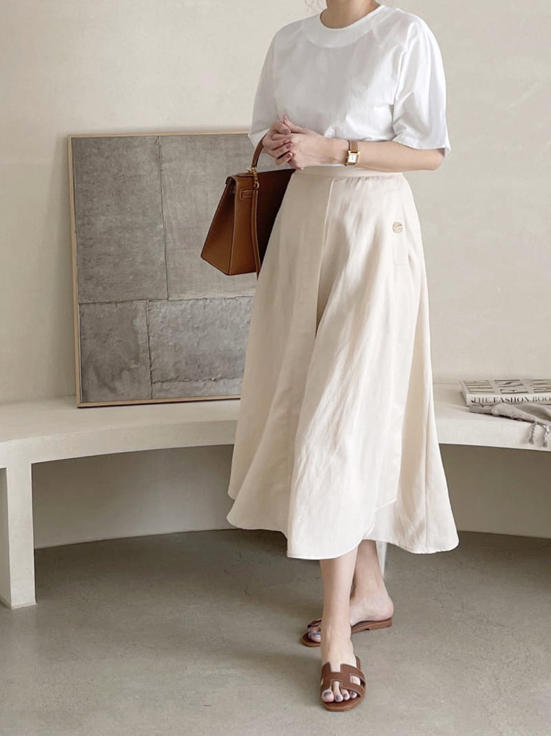 AFTER GLOW - Korean Children Fashion - #Kfashion4kids - Day Hol Skirt