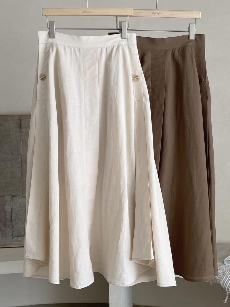 AFTER GLOW - BRAND - Korean Children Fashion - #Kfashion4kids - Day Hol Skirt