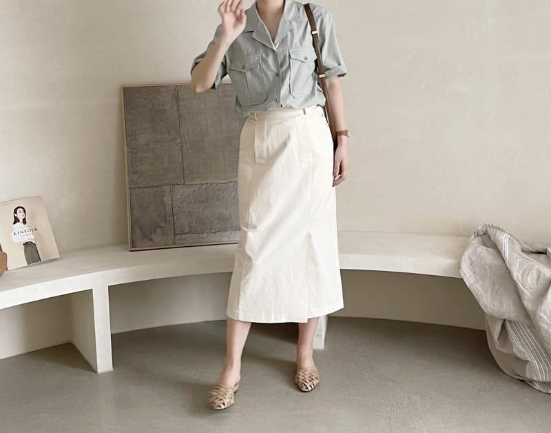AFTER GLOW - Korean Children Fashion - #Kfashion4kids - Lemel Pocket Shirt
