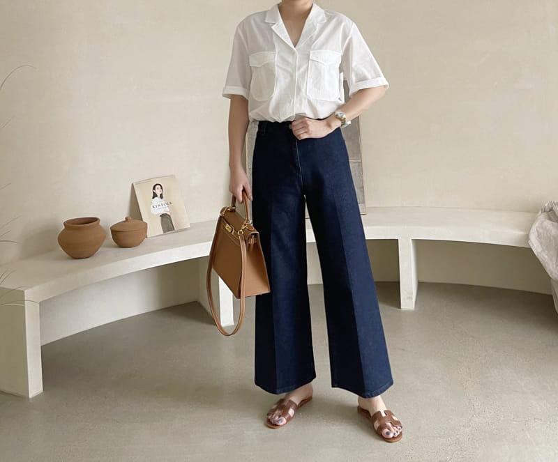 AFTER GLOW - Korean Children Fashion - #Kfashion4kids - Lemel Pocket Shirt - 2