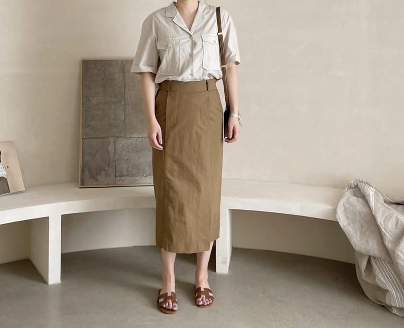 AFTER GLOW - Korean Children Fashion - #Kfashion4kids - Lemel Pocket Shirt - 3