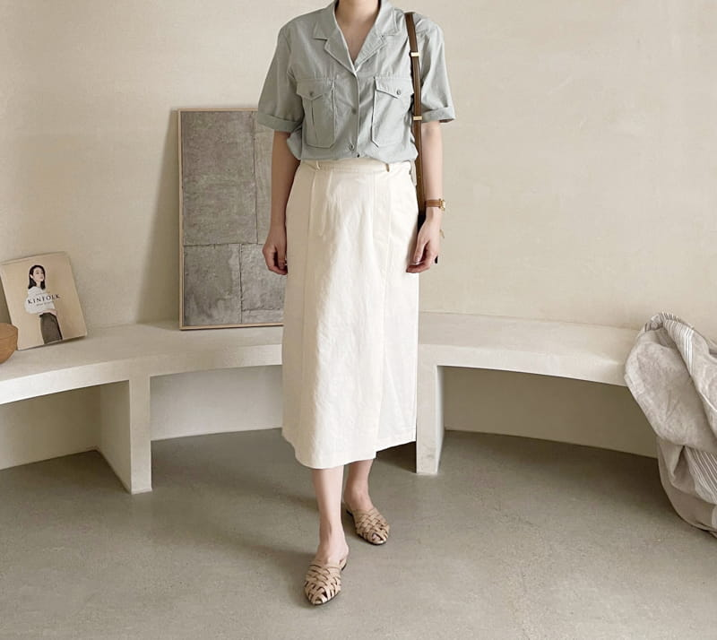 AFTER GLOW - Korean Children Fashion - #Kfashion4kids - Lemel Pocket Shirt - 4