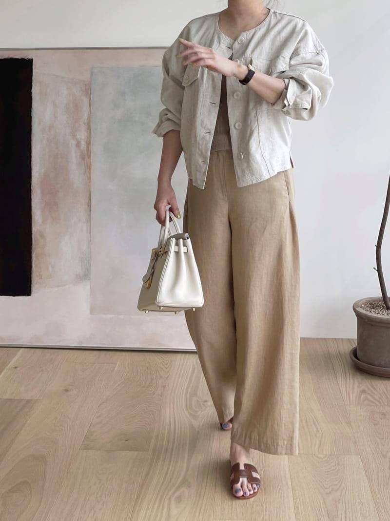 AFTER GLOW - Korean Children Fashion - #Kfashion4kids - Roy Linen Jacket - 2