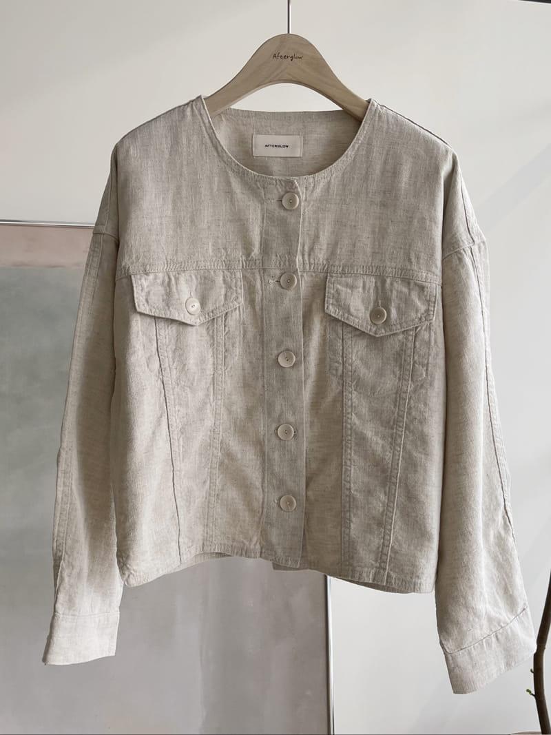 AFTER GLOW - BRAND - Korean Children Fashion - #Kfashion4kids - Roy Linen Jacket