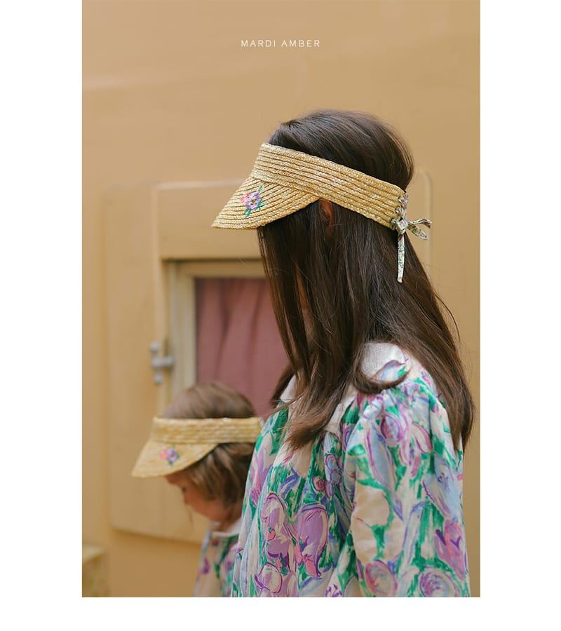 AMBER - Korean Children Fashion - #Kfashion4kids - Mom Seine Sun Cap