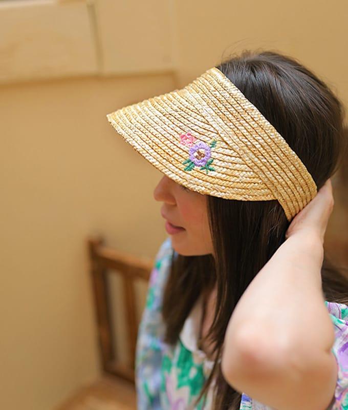 AMBER - BRAND - Korean Children Fashion - #Kfashion4kids - Mom Seine Sun Cap