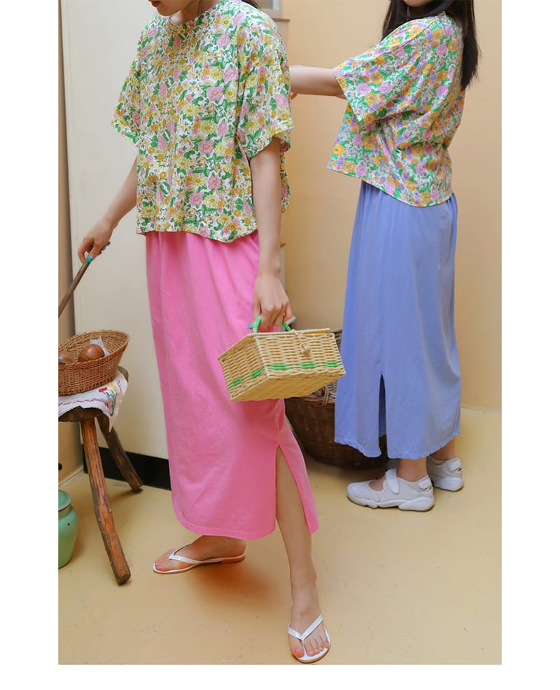 AMBER - Korean Children Fashion - #Kfashion4kids - Mom Merry Skirt