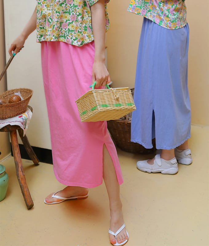 AMBER - BRAND - Korean Children Fashion - #Kfashion4kids - Mom Merry Skirt