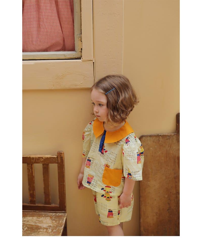 AMBER - Korean Children Fashion - #Kfashion4kids - Kay Blouse
