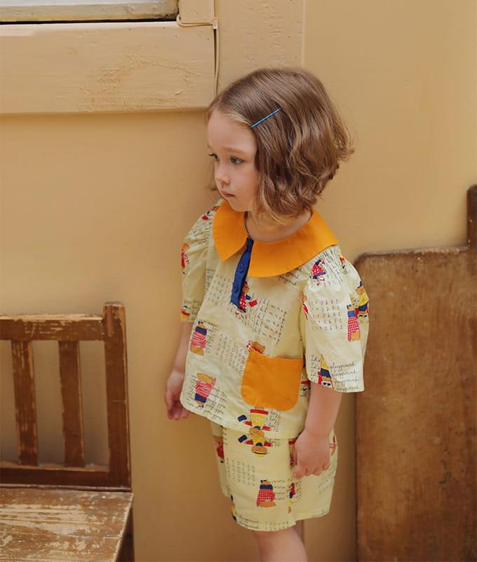 AMBER - BRAND - Korean Children Fashion - #Kfashion4kids - Kay Blouse