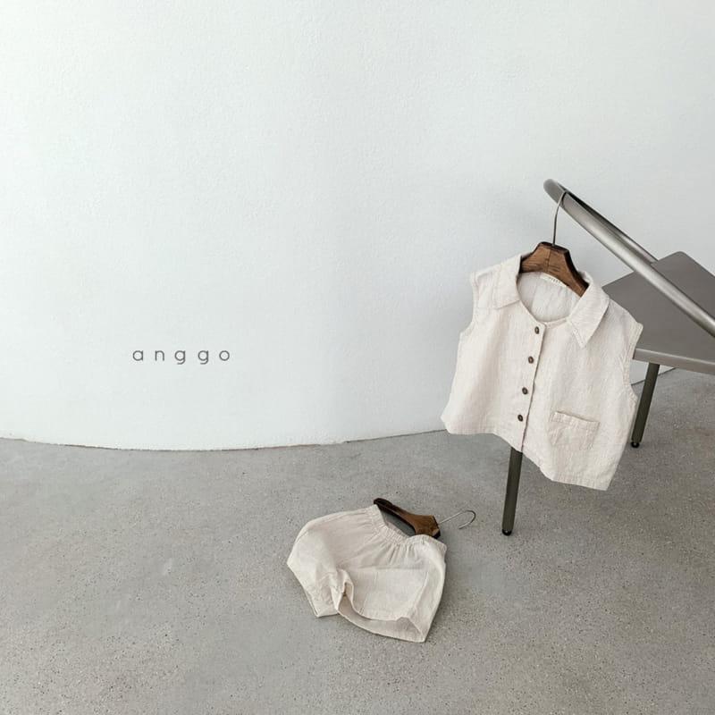 ANGGO - Korean Children Fashion - #Kfashion4kids - Mitzu Top Bottom Set - 2