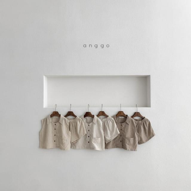 ANGGO - BRAND - Korean Children Fashion - #Kfashion4kids - Mitzu Top Bottom Set
