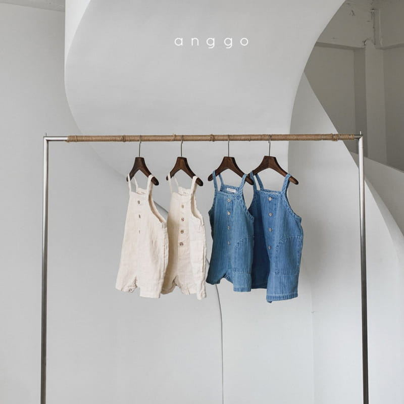 ANGGO - Korean Children Fashion - #Kfashion4kids - Cracker Overall
