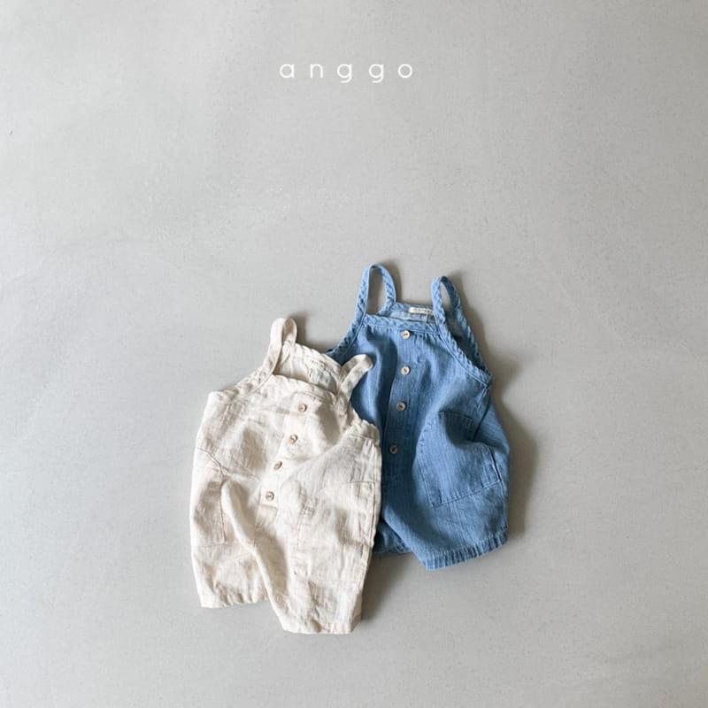 ANGGO - Korean Children Fashion - #Kfashion4kids - Cracker Overall - 4