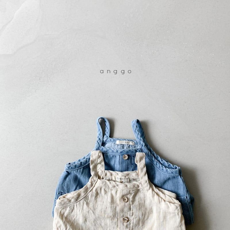 ANGGO - Korean Children Fashion - #Kfashion4kids - Cracker Overall - 5