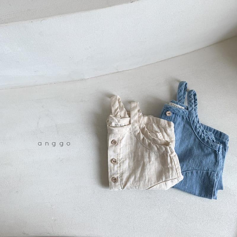 ANGGO - Korean Children Fashion - #Kfashion4kids - Cracker Overall - 6