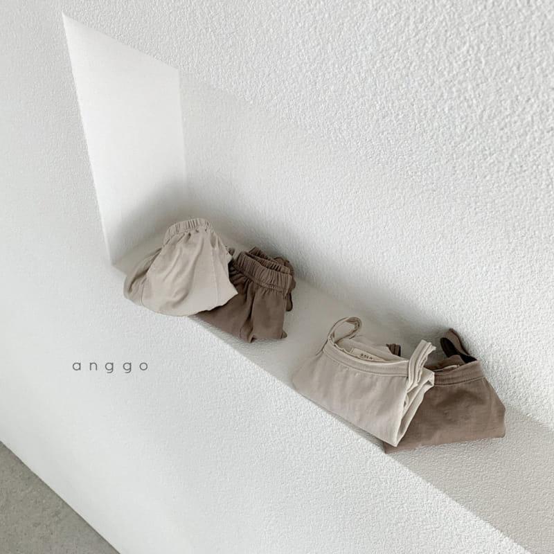 ANGGO - Korean Children Fashion - #Kfashion4kids - Monshell Top Bottom Set - 6