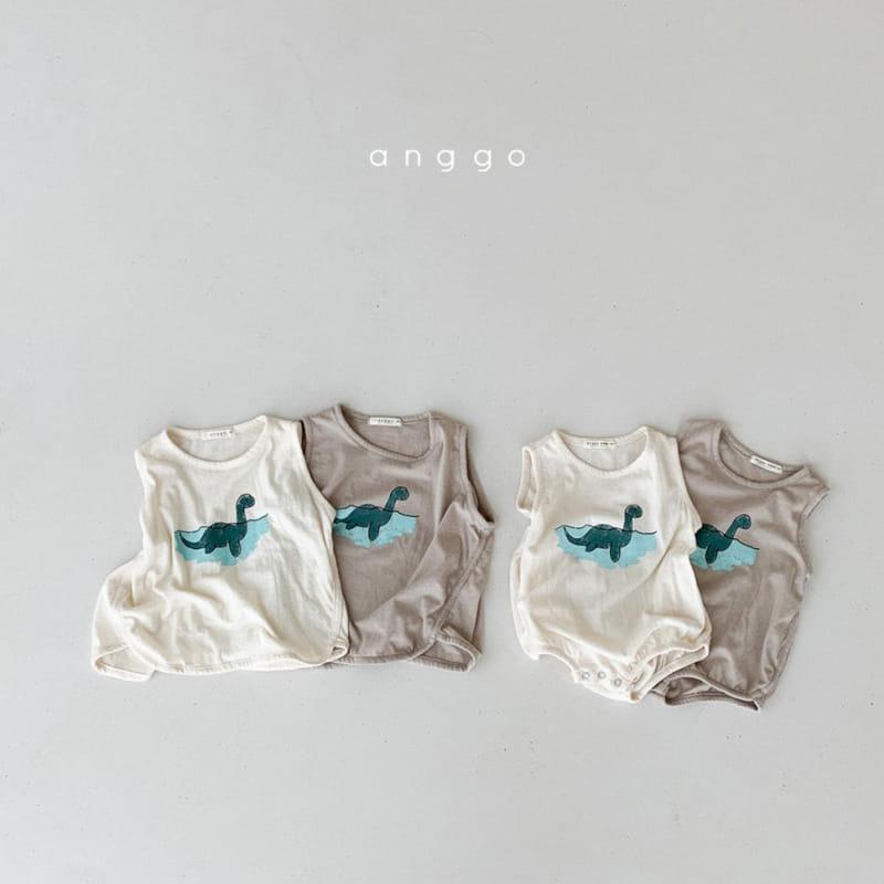 ANGGO - Korean Children Fashion - #Kfashion4kids - Summer Dino Tee - 4