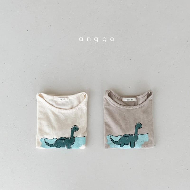 ANGGO - Korean Children Fashion - #Kfashion4kids - Summer Dino Tee - 6