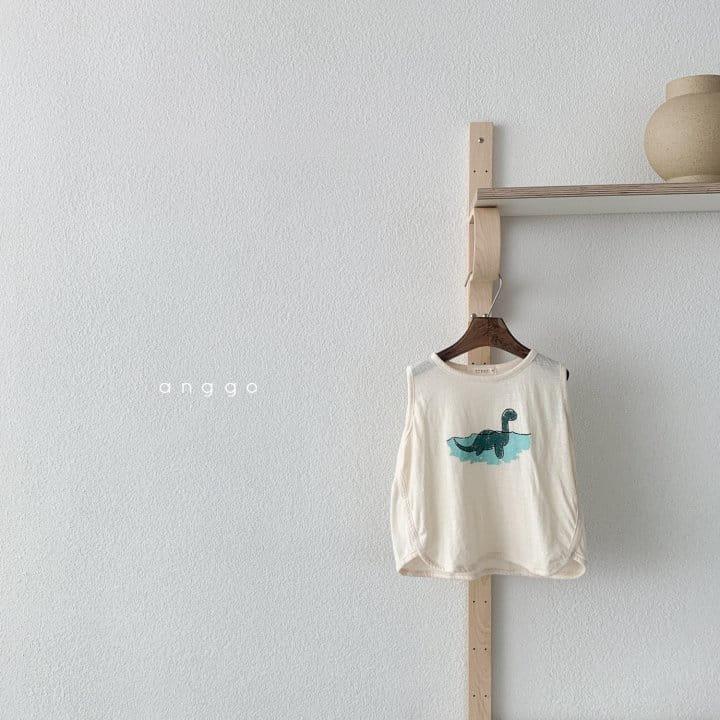 ANGGO - Korean Children Fashion - #Kfashion4kids - Summer Dino Tee - 8