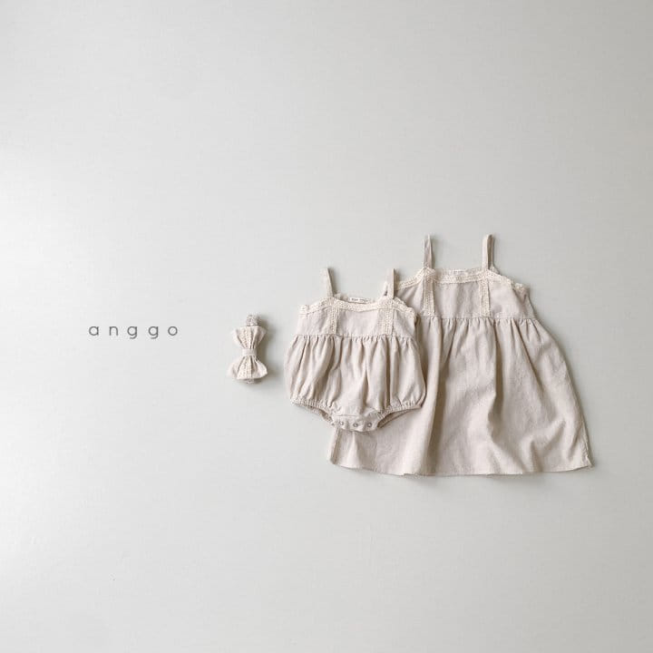 ANGGO - Korean Children Fashion - #Kfashion4kids - Kaila One-piece with Mom - 11