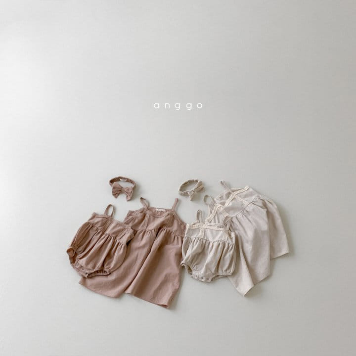 ANGGO - Korean Children Fashion - #Kfashion4kids - Kaila One-piece with Mom - 12
