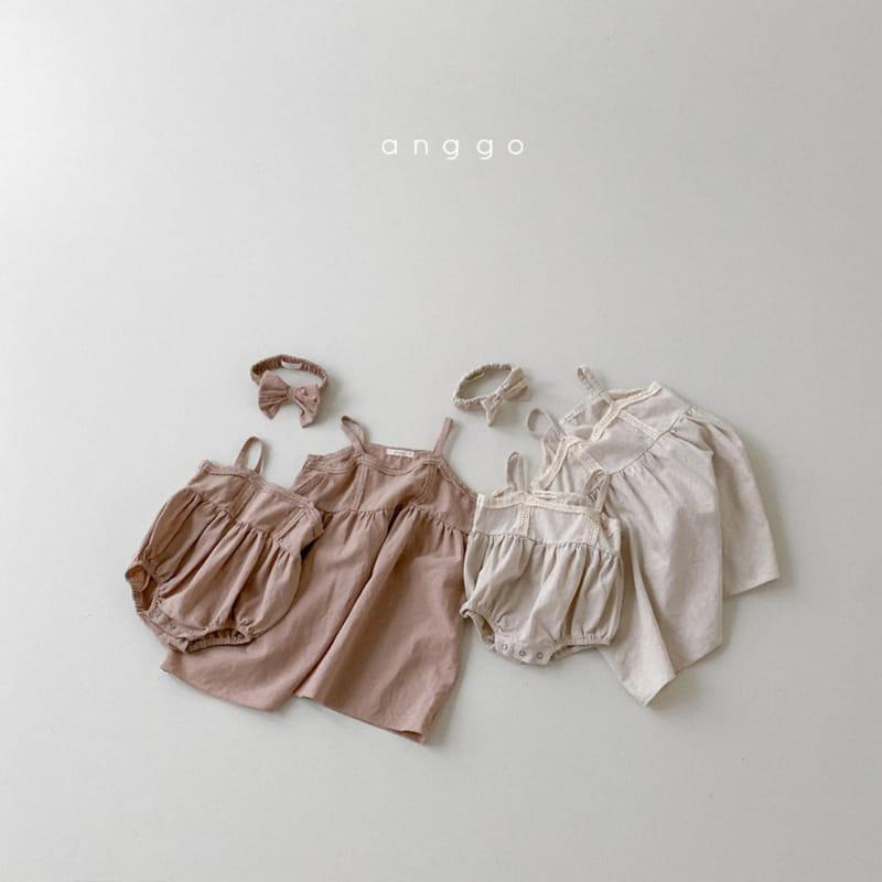 ANGGO - Korean Children Fashion - #Kfashion4kids - Kaila One-piece with Mom - 5