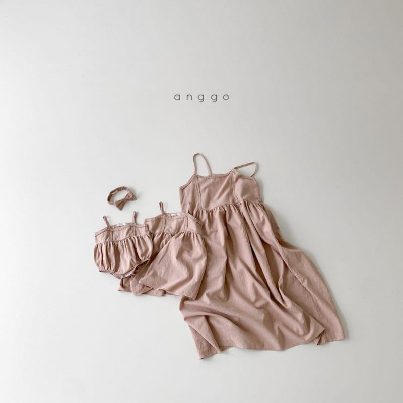 ANGGO - Korean Children Fashion - #Kfashion4kids - Kaila One-piece with Mom - 8