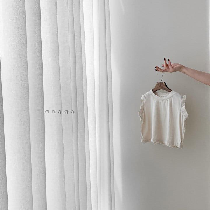 ANGGO - Korean Children Fashion - #Kfashion4kids - Margarine Tee - 10