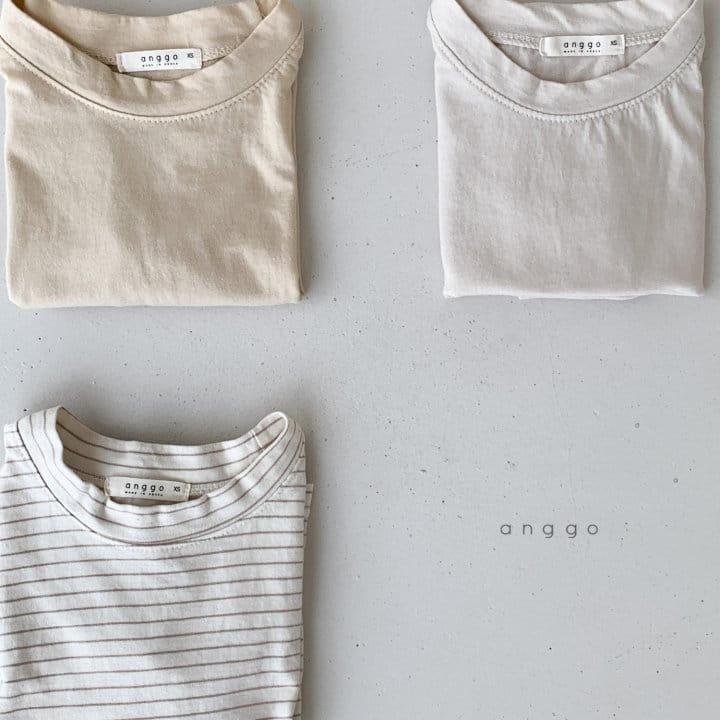 ANGGO - Korean Children Fashion - #Kfashion4kids - Margarine Tee - 11