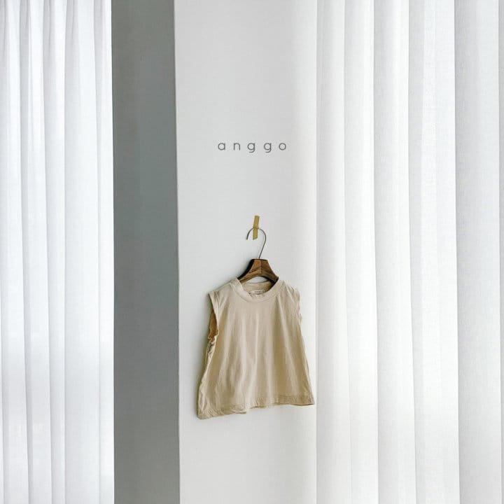 ANGGO - Korean Children Fashion - #Kfashion4kids - Margarine Tee - 12