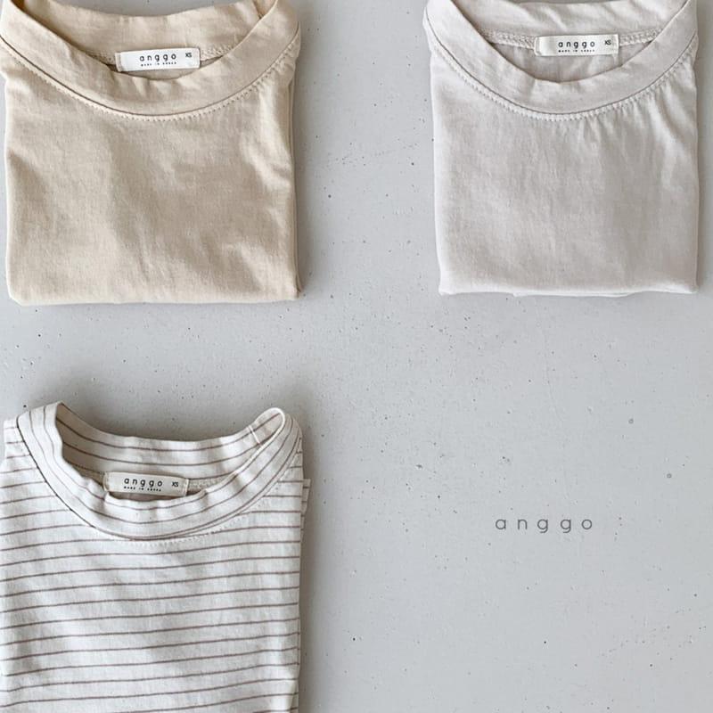 ANGGO - Korean Children Fashion - #Kfashion4kids - Margarine Tee - 3