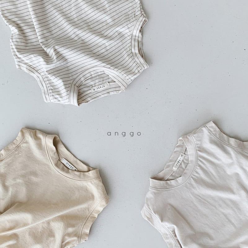 ANGGO - Korean Children Fashion - #Kfashion4kids - Margarine Tee - 4