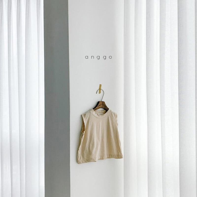 ANGGO - Korean Children Fashion - #Kfashion4kids - Margarine Tee - 6