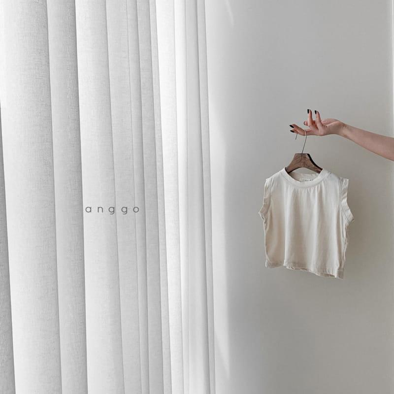 ANGGO - Korean Children Fashion - #Kfashion4kids - Margarine Tee - 7