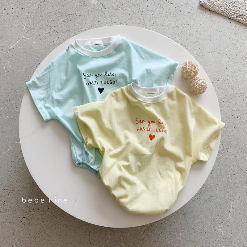 BEBE NINE - Korean Children Fashion - #Kfashion4kids - Summer Heart Bodysuit - 3