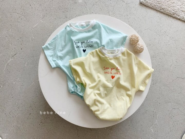 BEBE NINE - Korean Children Fashion - #Kfashion4kids - Summer Heart Bodysuit - 6