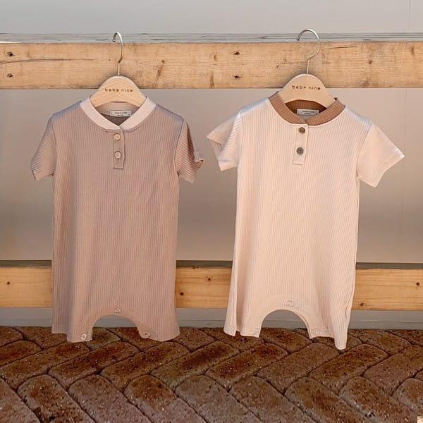 BEBE NINE - Korean Children Fashion - #Kfashion4kids - Amonde Bodysuit