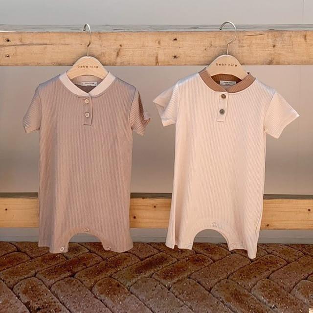 BEBE NINE - BRAND - Korean Children Fashion - #Kfashion4kids - Amonde Bodysuit