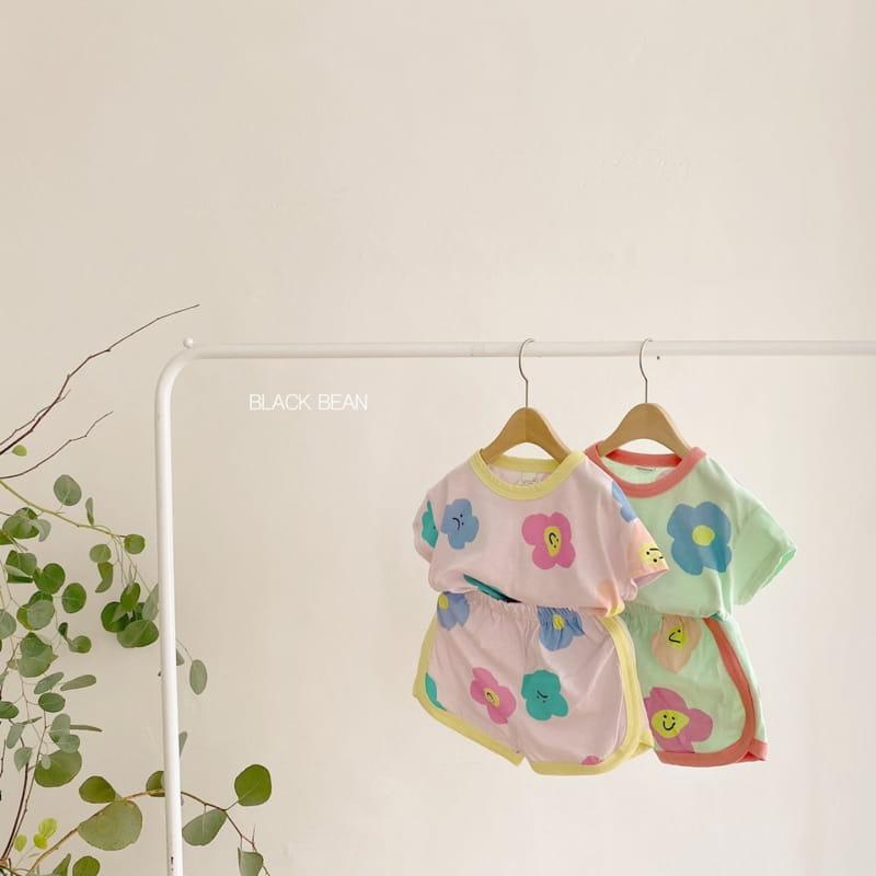 BLACK BEAN - Korean Children Fashion - #Kfashion4kids - Candy Bebe Top Bottom Set - 3