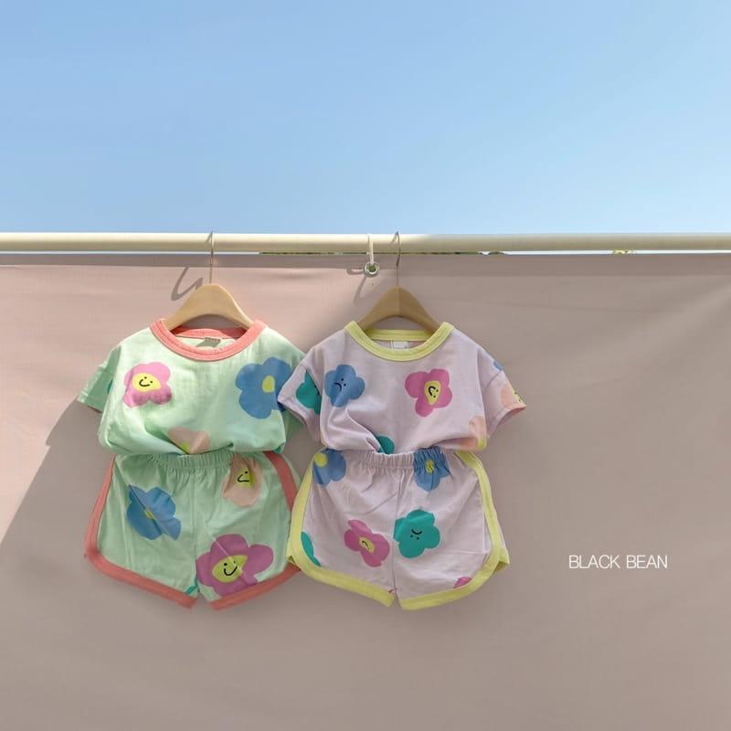 BLACK BEAN - Korean Children Fashion - #Kfashion4kids - Candy Bebe Top Bottom Set - 6