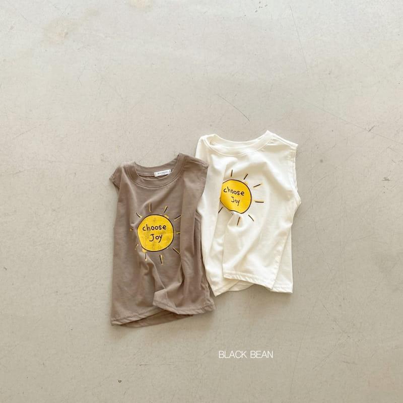 BLACK BEAN - Korean Children Fashion - #Kfashion4kids - Joy Sleeveless Tee
